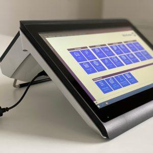 Colormetrics C1400 Touchkasse (höhenverstellbar durch ausklappbaren Bügel)
