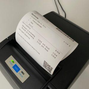Citizen-CT-S4000 mit 11cm Bondausdruck