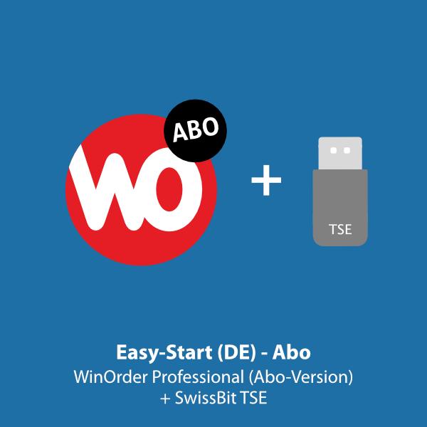 Easy-Start.DE: WinOrder Abo-Version inkl. SwissBit TSE