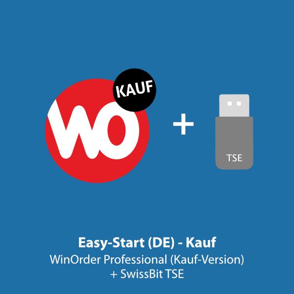 Easy-Start.DE: WinOrder Kauf-Version inkl. SwissBit TSE
