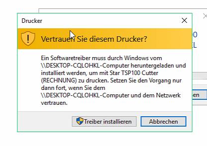 FAQ: Windows Meldung