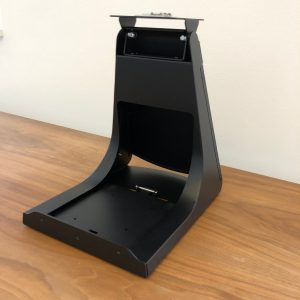 Glancetron Smart Stand (Seitenansicht von schräg rechts)