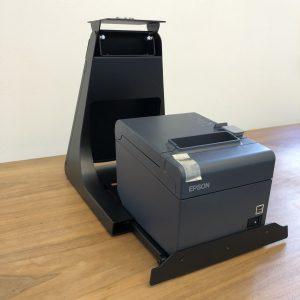 Glancetron Smart Stand mit Epson TM-T20ii (Schubfach herausgezogen)
