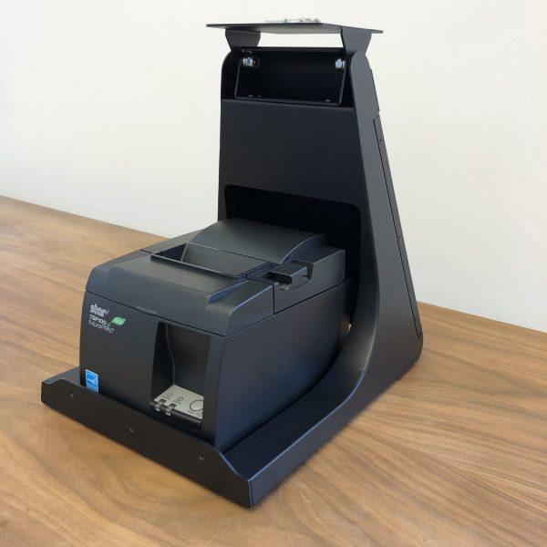 Glancetron Smart Stand mit STAR TSP143 (Ansicht von schräg rechts)