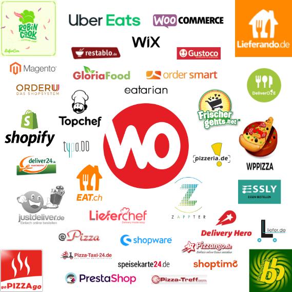 Shops und Portale mit Schnittstelle zur WinOrder-Kasse