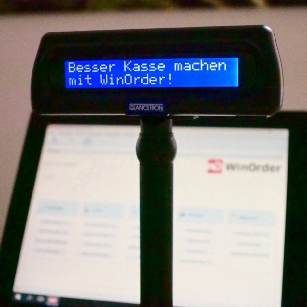 Glancetron 8035: Besser Kasse machen mit WinOrder Touchkasse