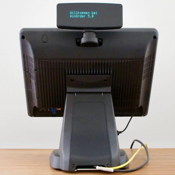 Colormetrics P3100 (Rückansicht mit optionalem Kundendisplay)