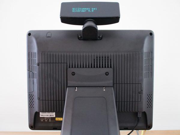 Colormetrics P3100 (Rückansicht mit VFD)