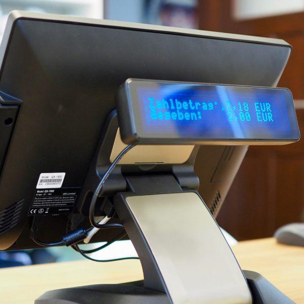 Kundendisplay Quantum QX1900 Touchkasse