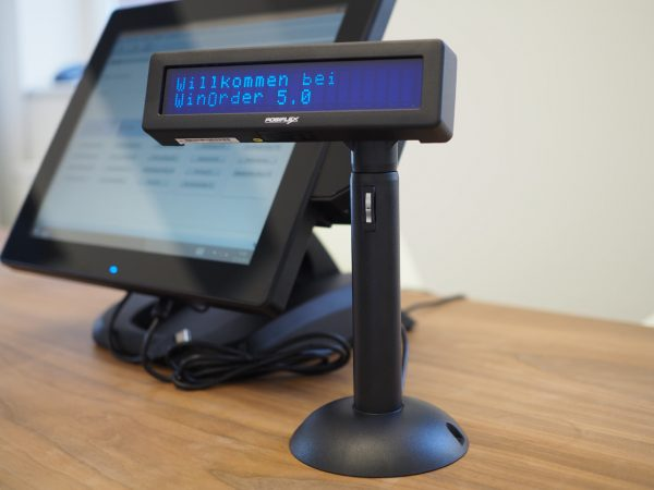 Posiflex POS Kundendisplay (Displey nach links verschoben)
