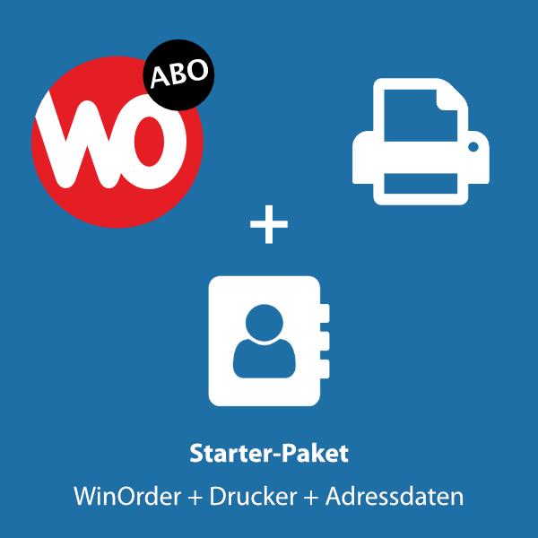 Starter Paket: WinOrder + Bondrucker + Adressdatenimport
