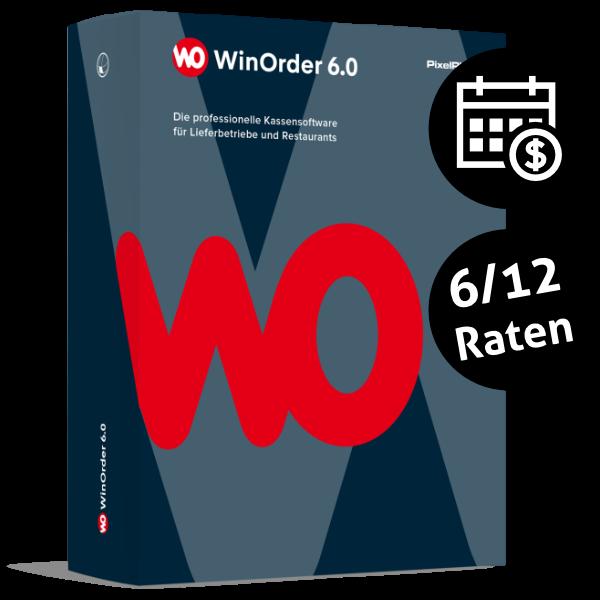 WinOrder 6.0 Pro oder Enterprise in 6 bzw. 12 Monatsraten bezahlen